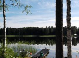 Villa Paradise at Puruvesi Saimaa, Пункахарью (рядом с городом Maironiemi)