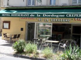 Hotel de la Dordogne, Bort-les-Orgues (рядом с городом Champs Sur Tarentaine)