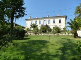 Villa Rue du Faubourg d'Envie, Caudrot (рядом с городом Saint-Laurent-du-Bois)