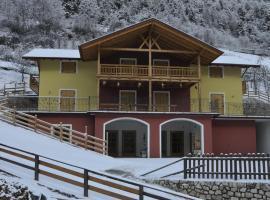 Agritur Sottoilmelo, Caldes (San Giacomo di Caldes yakınında)