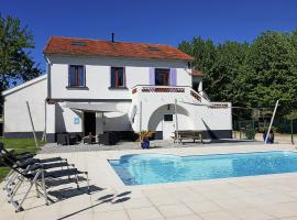 Villa Suus, Saint-Hilaire-de-Brethmas (рядом с городом Mons)