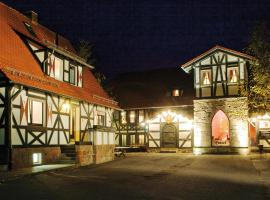 Hotel Der Grischäfer, Bad Emstal (Niedenstein yakınında)