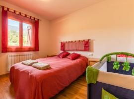 Apartamento Pua-Ginesta, Pauls de Flamisells (рядом с городом La Plana de Mont-Ros)