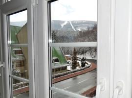 Z widokiem na Śnieżkę
