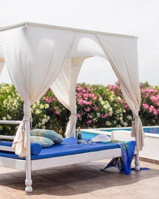 White Blue Villa