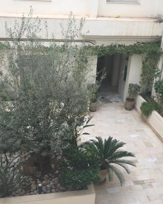 Appartement cosy 10 minutes de la plage face Tunisia Mall