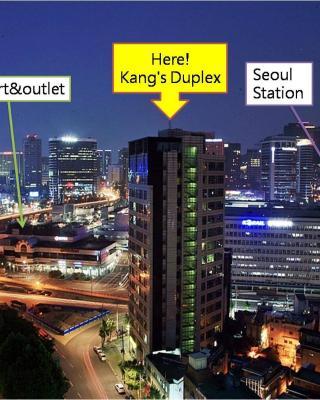 康斯複式公寓@首爾站