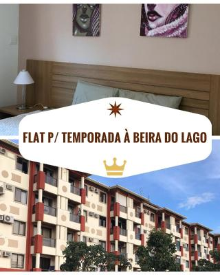 Flat à beira do Lago