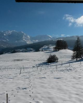 Rez de chaussée très calme vue Mont-Blanc