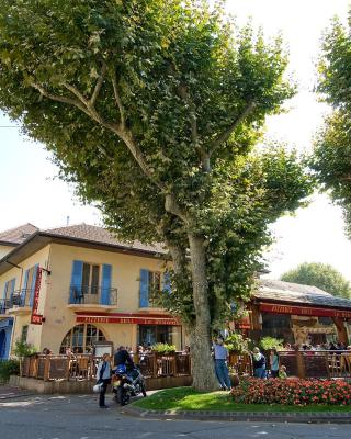 Inter-Hotel Aix-les-Bains L'Iroko Grand Port