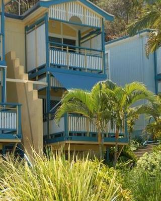Beach front Villa at Tangalooma