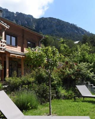 un balcon en montagne
