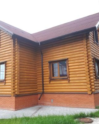 House on Volga river