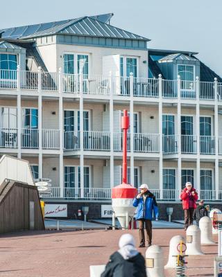 Weisse Villa am Meer
