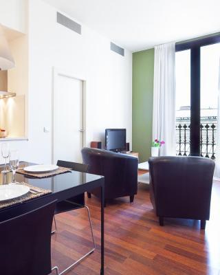 梅爾卡特巴塞羅那市內公寓