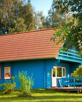 Ferienhaus Kranichblick mit Terrasse am Bodden