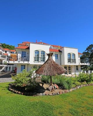 Haus Meeresblick - Ferienwohnung Ostseegold & Ostseesilber