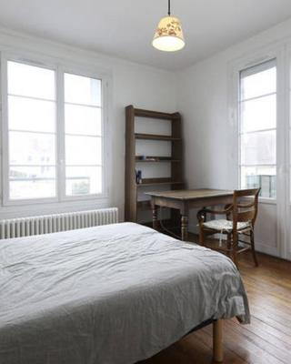 Chambres meublées chez l'habitant dans appartement proche gare sncf