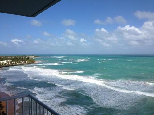 Oceanfront Luquillo Condo