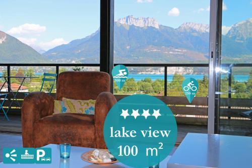Home Lac 100m² Vue et parking