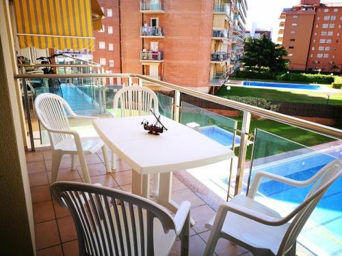 Description for a11y. Mare Nostrum Apartment. Santa Susanna ...
