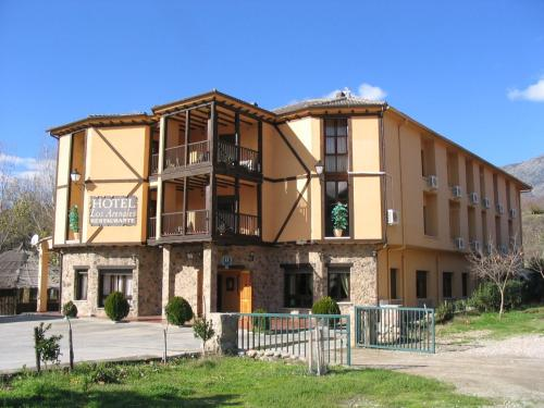 Description for a11y. Hotel Valle del Jerte ...