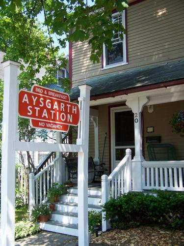 Aysgarth Station