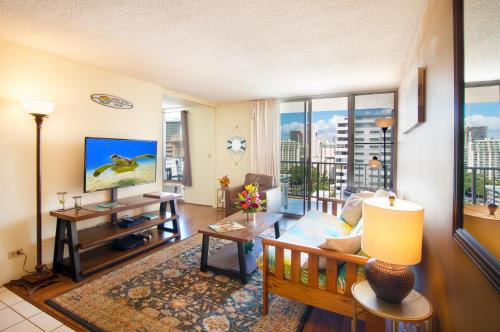 Waikiki Lanais | 17th Floor | 2 Bedroom