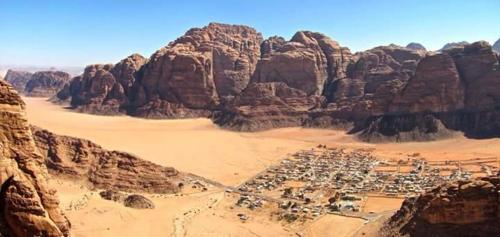 Bedouin Family Camp