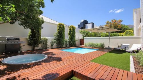 Perfectly Located Franschhoek House