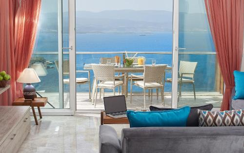 Villa on the coast of the Aegean Sea