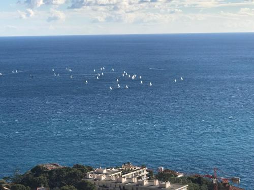 Cap d'Ail Monaco Vue mer exceptionnelle 2/3 pièces