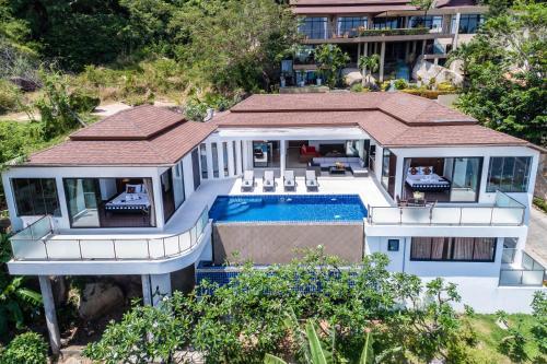 Sunny Banks - Lamai Sea View Villa