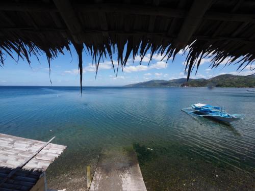 バタンガス州のイン。フィリピン...