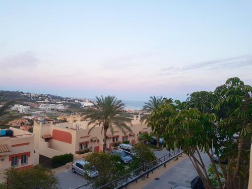 Las terrazas de la cala de Mijas