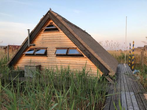 Pfahlbau Rust Robinsonhütte