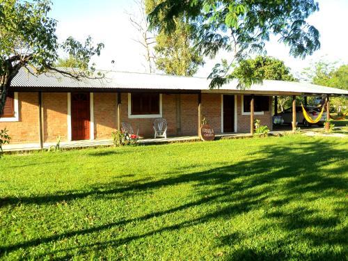 Casas de campo em Esteros del Iberá. 4 casas de campo em ...
