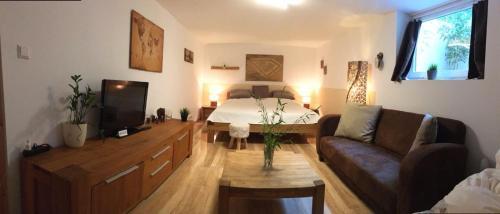 Doppelzimmer mit Bad - Souterrain