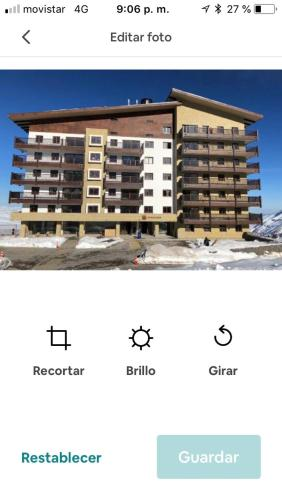 Valle Nevado Ski Resort Apartament