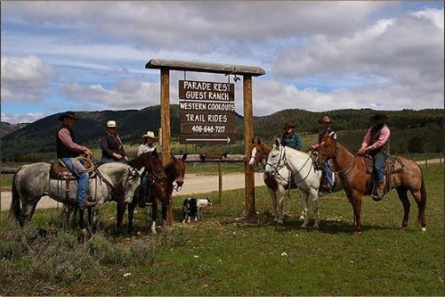 Parade Rest Ranch
