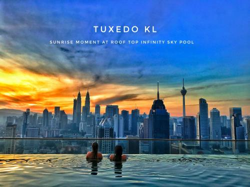 Tuxedo KL -No.1 Rooftop Pool w Skyscraper Views