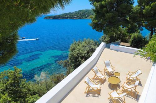 Sea View Villa in Achladies