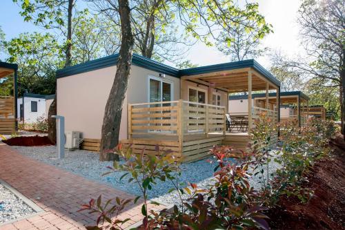 Campsite Puntica Mobile Homes Mediteran kamp