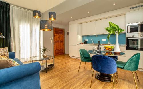 Luxury penthouse apartment near the city center