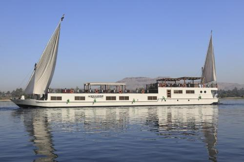 Merit Dahabiya - 07 & 04 Nights Each Saturday from Luxor - 07 & 03 Nights Each Wednesday from Aswan