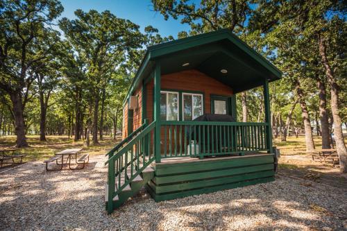 Lake Tawakoni Camping Resort Cabin 1
