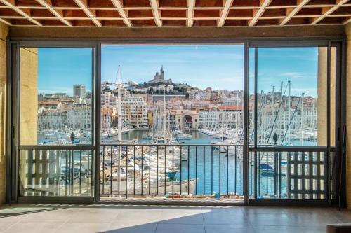 Old Port Resort Marseille - appt. Luxe 180m2, 3 bdrm
