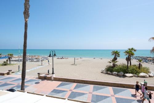 MalagaSuite Front Beach & Parking