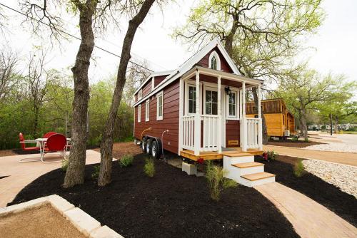 Austin's Original Tiny Home Hotel