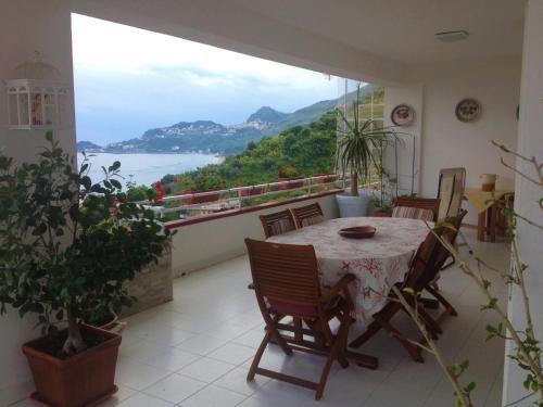 Panoramic over Taormina bay